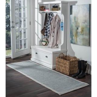 Light Blue Seros Modern Indoor/Outdoor Area Rug (2'6 x 11') https://ak1.ostkcdn.com/images/products/13083631/P19818165.jpg?impolicy=medium