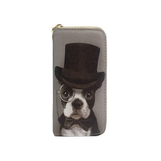 Alfa Traditional Top Hat Dog Wallet