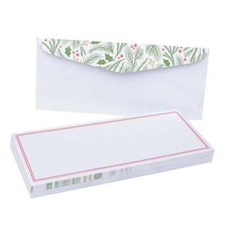 Holiday Holly #10 40-count Envelopes