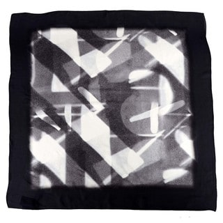 Halston Heritage Specular Reflection Silk Scarf