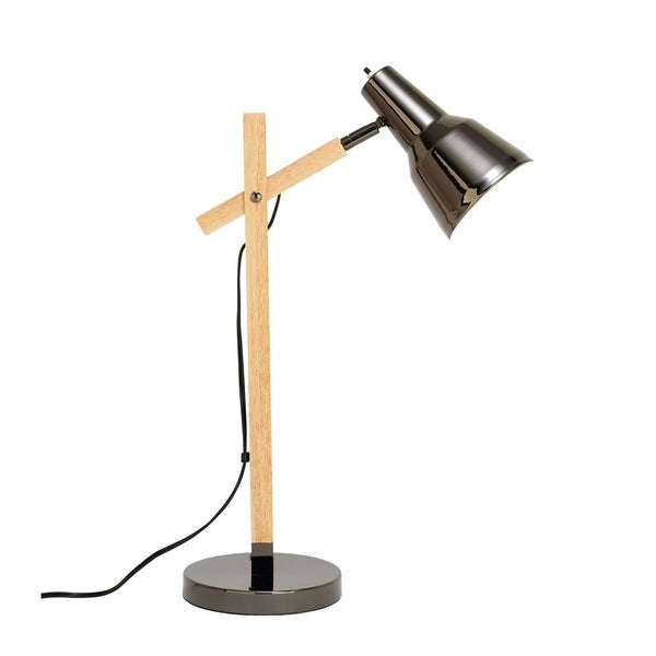 Studio 350 Wood Metal Table Lamp 23 inches high