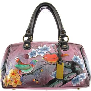 Anuschka Women's '575' Multicolored Leather Handbag