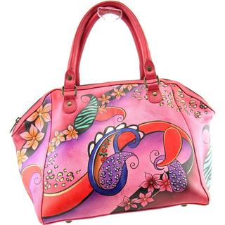 Anuschka Women's 'Paisley Collage' Leather Handbags
