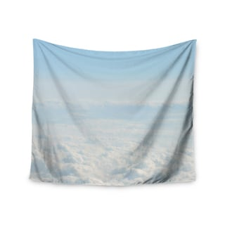 Kess InHouse Chelsea Victoria 'Softly' Blue and White Wall Tapestry