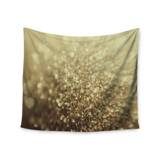 Kess InHouse Chelsea Victoria 'Glitterati' Gold Photography Wall Tapestry (As Is Item)