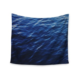 Kess InHouse Chelsea Victoria 'Sea Calm' Blue Nature Polyester Wall Tapestry
