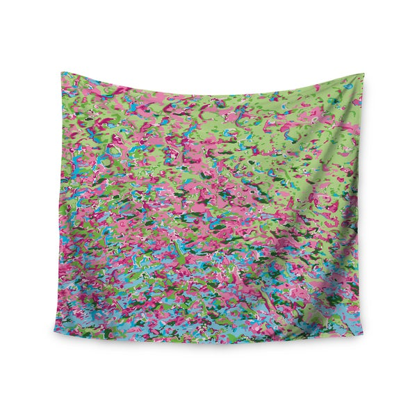 Kess InHouse Empire Ruhl 'Spring Puddle Abstract' Wall Tapestry