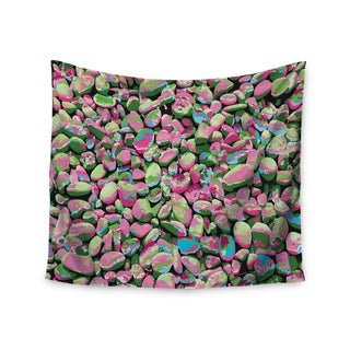 Kess InHouse Empire Ruhl 'Rocks Spring Abstract' Green Nature Wall Tapestry