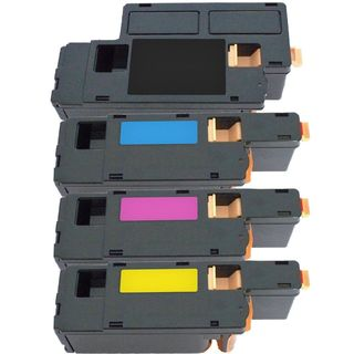 4PK Compatible Dell C1760 BK C M Y Toner Cartridge For Dell C1760nw C1765nf C1765nfw ( Pack of 4 )