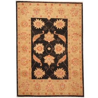 Herat Oriental Afghan Hand-knotted Vegetable Dye Oushak Wool Rug (2'9 x 4')