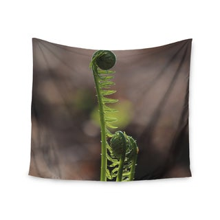 "Kess InHouse Angie Turner ""Fern Top"" - Green Nature Wall Tapestry"