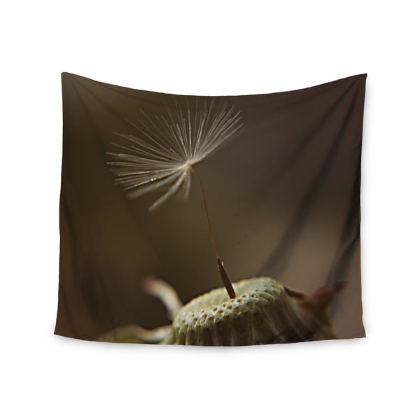 "Kess InHouse Angie Turner ""One Wish"" Green White Wall Tapestry"