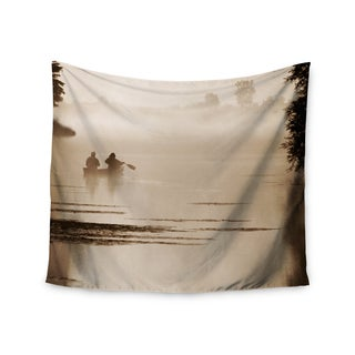 "Kess InHouse Angie Turner ""Misty Morning"" Gray White Wall Tapestry"