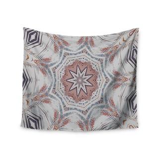 "Kess InHouse Alison Coxon ""Boho Dream Tan"" Pink Blue Wall Tapestry"