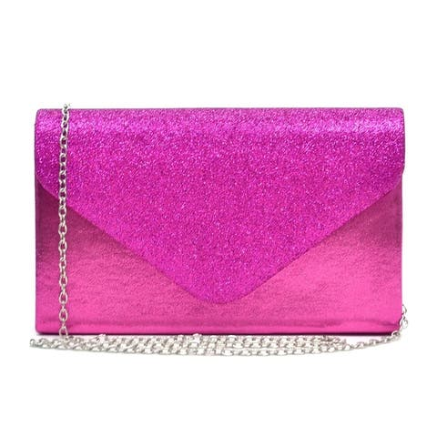 6cf4b9996e5e9b Buy Pink Clutches & Evening Bags Online at Overstock | Our Best Shop ...