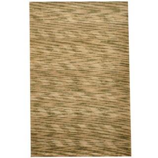 Herat Oriental Indo Hand-knotted Tibetan Wool Rug (2'7 x 4'1)