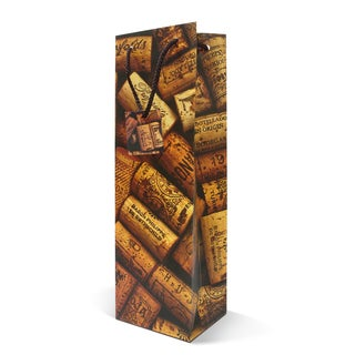 Epicureanist Cork Wine Gift Bags (Case of 16)