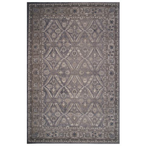 Vintage Collection Pale Blue Oriental Rug - 5' x 8'