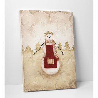 Wexford Home Snowlady Premium Gallery-wrapped Canvas