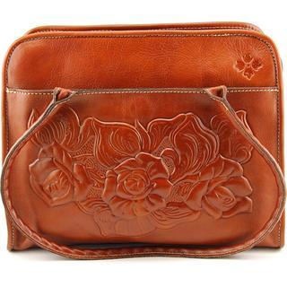 Patricia Nash Women's 'Large Tooled Rose Paris' Leather Handbag
