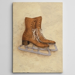 Wexford Home 'Vintage Ice Skates' Gallery-wrapped Canvas Art