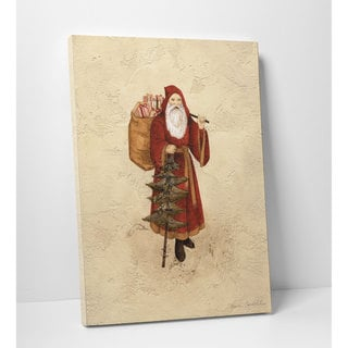 Wexford Home 'Vintage Santa' Premium Gallery-wrapped Canvas