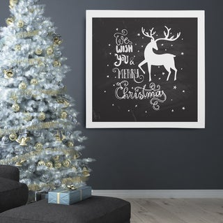 Wexford Home 'Holiday Reindeer at Play' Premium Gallery-wrapped Canvas