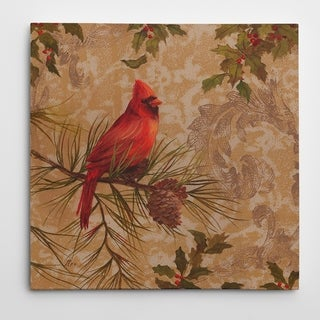 Wexford Home 'Cardinal II' Premium Gallery-wrapped Canvas