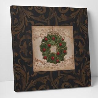 Wexford Home Carol Robinson 'Polkadot Present' Premium Gallery Wrapped Canvas