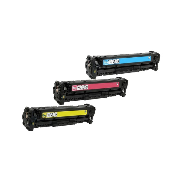 3PK Compatible CF401 CF402X CF403X XToner Cartridge For HP Color LaserJet M252 M277dw ( Pack of 3 )