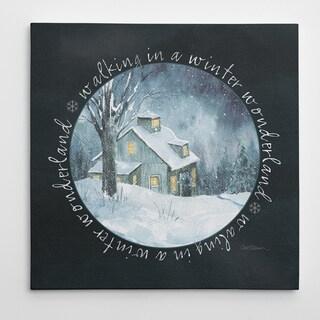 Wexford Home 'Winter Wonderland' Premium Gallery-wrapped Canvas