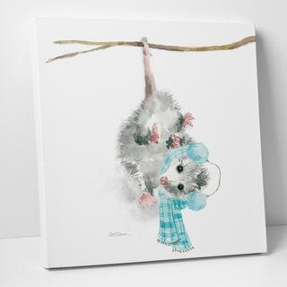 Wexford Home 'Christmas Critter Possum' 16-inch x 16-inch, 24-inch x 24-inch, 36-inch x 36-inch Gallery-wrapped Canvas Art