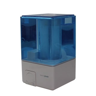 InvisiPure Sky Blue and White Cool-mist Ultrasonic Humidifier