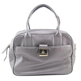 Cole Haan Women's 'Tartine Satchel' Grey Leather Handbag