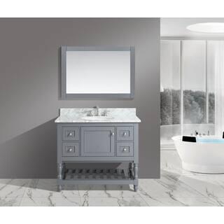 Buy Inches Bathroom Vanities Vanity Cabinets Online At - 42 inch bathroom vanity with top