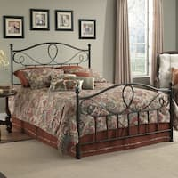 Fashion Bed Group Sylvania Metal Bed in French Roast Finish