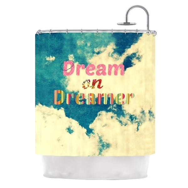 Kess InHouse Robin Dickinson Dream On Clouds Shower Curtain
