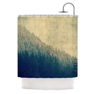 yellow and purple shower curtain. Kess InHouse Robin Dickinson Any Road Will Do Mountain Tree Shower Curtain Abstract Curtains For Less  Overstock com Vibrant Fabric