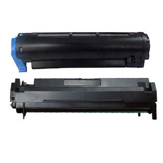 2PK Compatible 43979216 43979001 Toner and Drum Cartridge For OKI B410 420 430 440 ( Pack of 2 )