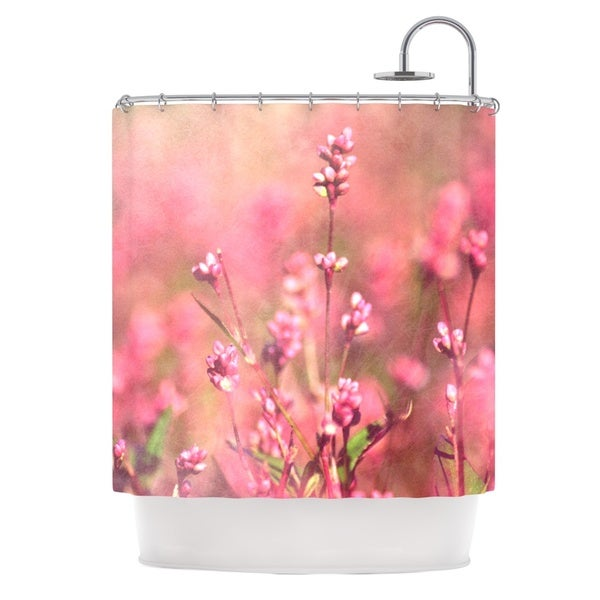 Kess InHouse Robin Dickinson Its a Sweet Sweet Life Flowers Shower Curtain