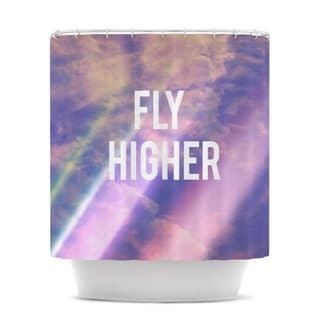 Kess InHouse Rachel Burbee Fly Higher Shower Curtain