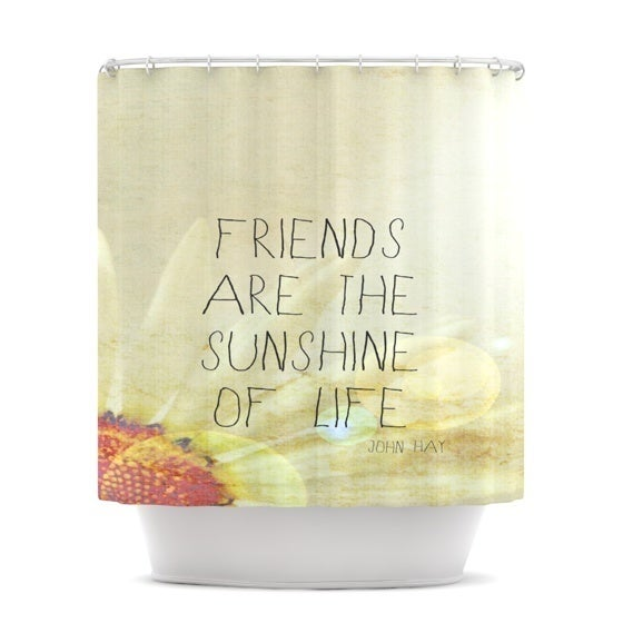 Kess InHouse Rachel Burbee Friends & Sunshine Shower Curtain