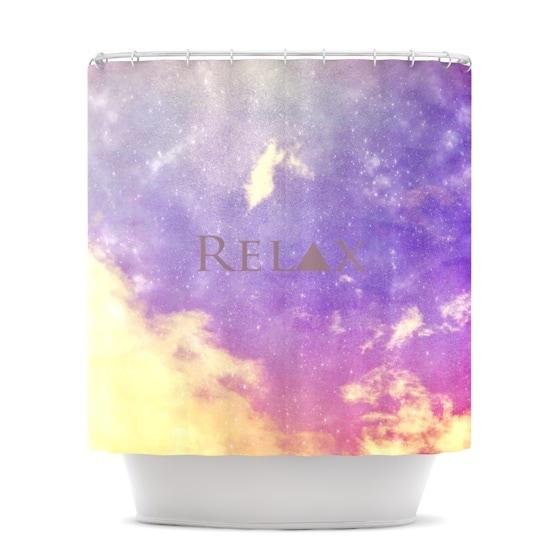 Kess InHouse Rachel Burbee Relax Shower Curtain