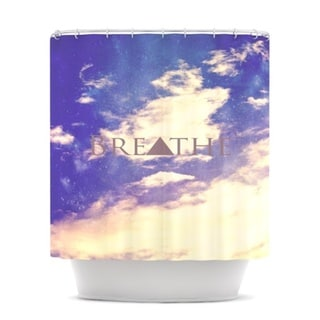 Kess InHouse Rachel Burbee Breathe Shower Curtain