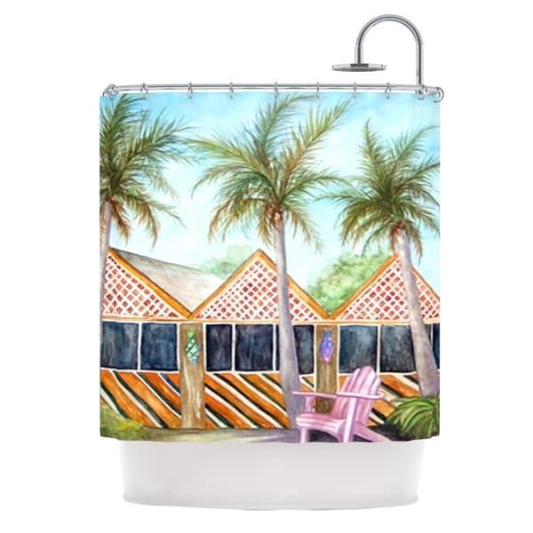 Kess InHouse Rosie Brown Mct On Sanibel Shower Curtain