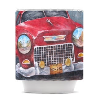 Kess InHouse Rosie Brown Vintage in Cuba Shower Curtain