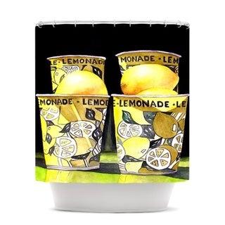 Kess InHouse Rosie Brown Lemonade Shower Curtain