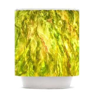 Kess InHouse Rosie Brown Tropical Delight Shower Curtain