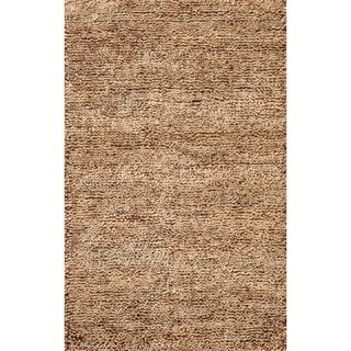 Noble House Inc 'Eyeball' Shag Multicolor Wool Rug (5' x 8')