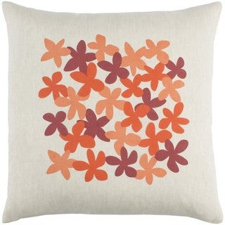Decorative Poole 18-Inch Down or Poly Filled Throw Pillow